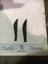 peugeot 205 1.6 / 1.9 gti Door Mirror Trim Inserts Pair